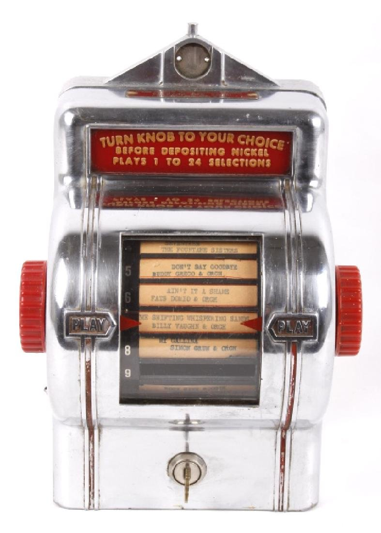 Packard Paymor Butler Wallbox Jukebox Remote - 2