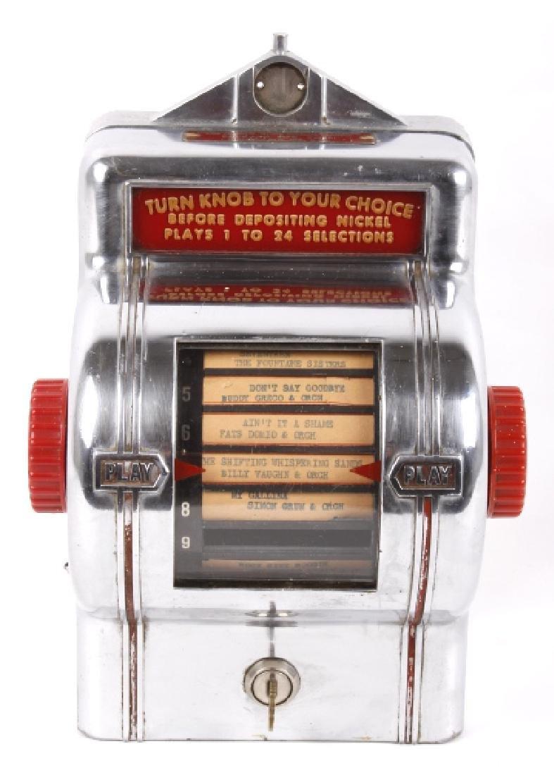 Packard Paymor Butler Wallbox Jukebox Remote - 2