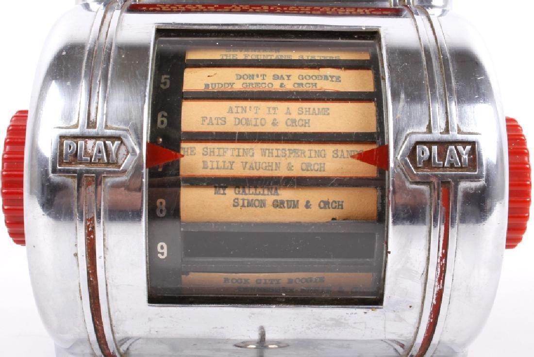 Packard Paymor Butler Wallbox Jukebox Remote - 3