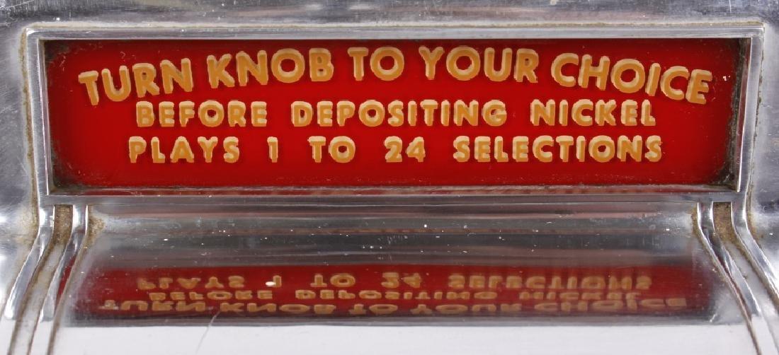 Packard Paymor Butler Wallbox Jukebox Remote - 5