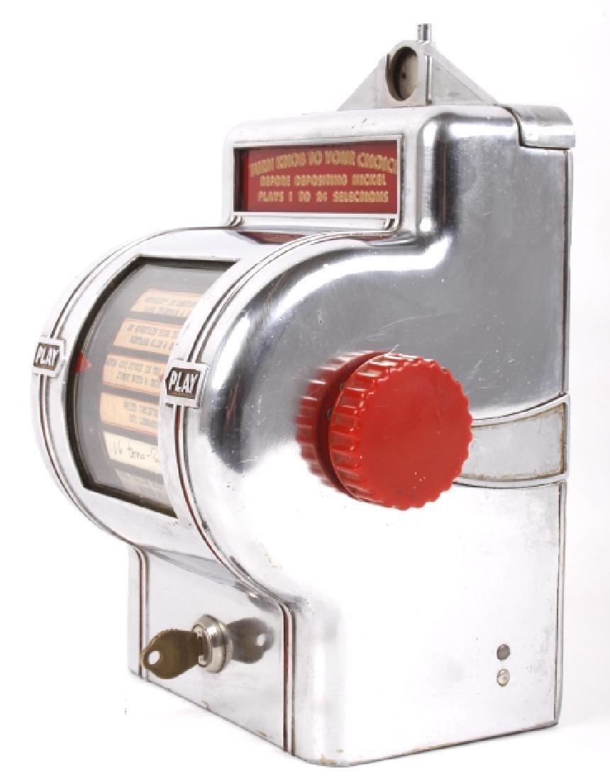 Packard Paymor Butler Wallbox Jukebox Remote - 6