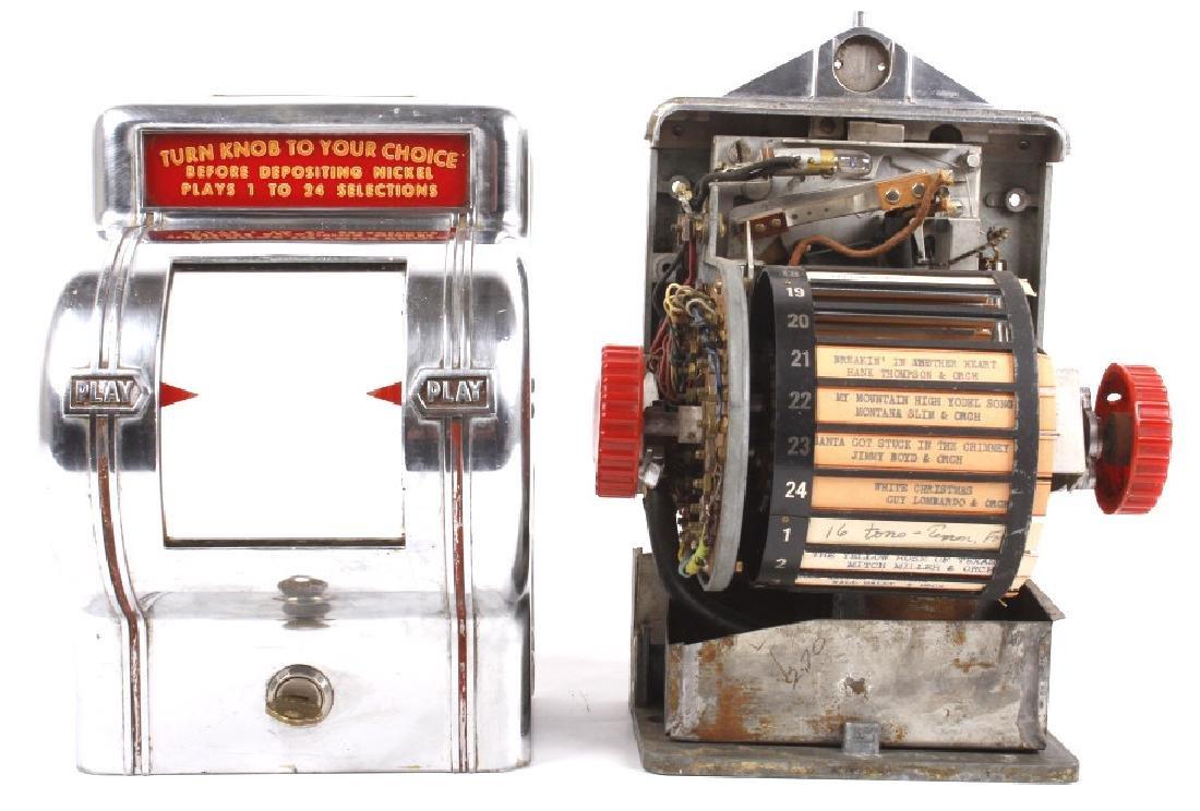 Packard Paymor Butler Wallbox Jukebox Remote - 9