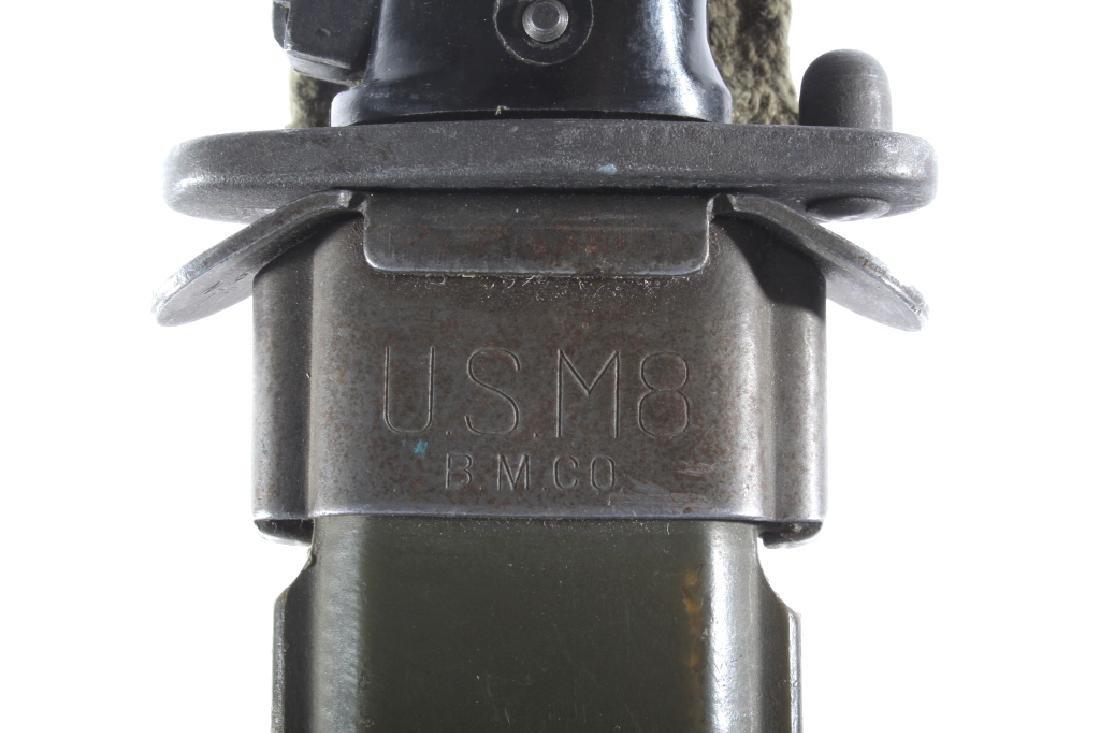 M1 Garand M5-1 Bayonet & Scabbard w/ Ammo Pouches - 13