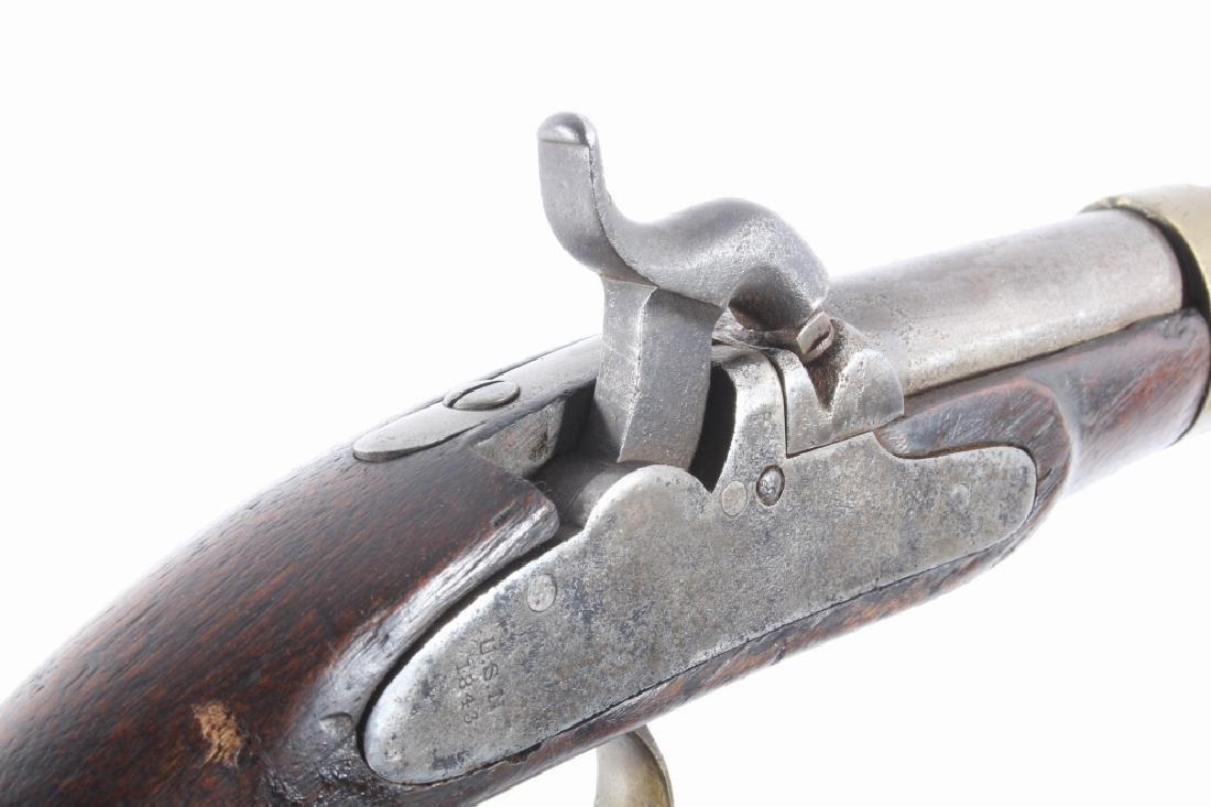 U.S. Navy Model 1842 .54 Cal Box Lock Pistol - 11