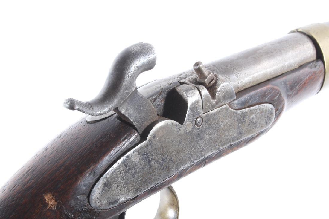 U.S. Navy Model 1842 .54 Cal Box Lock Pistol - 13