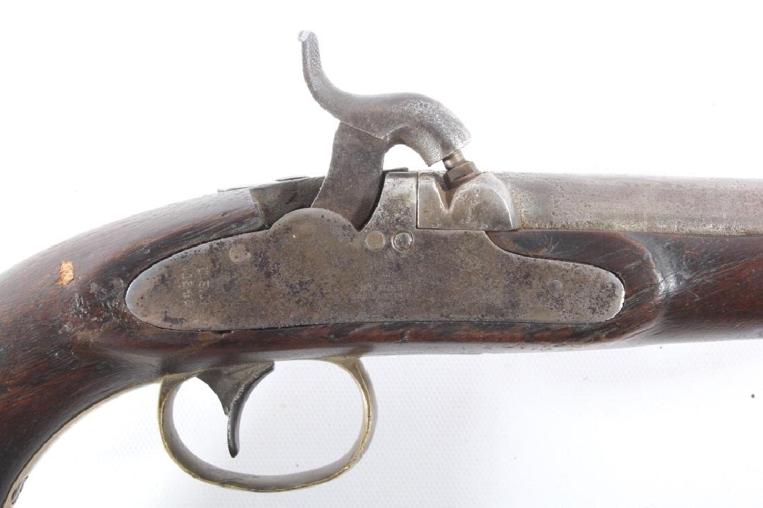 U.S. Navy Model 1842 .54 Cal Box Lock Pistol - 3