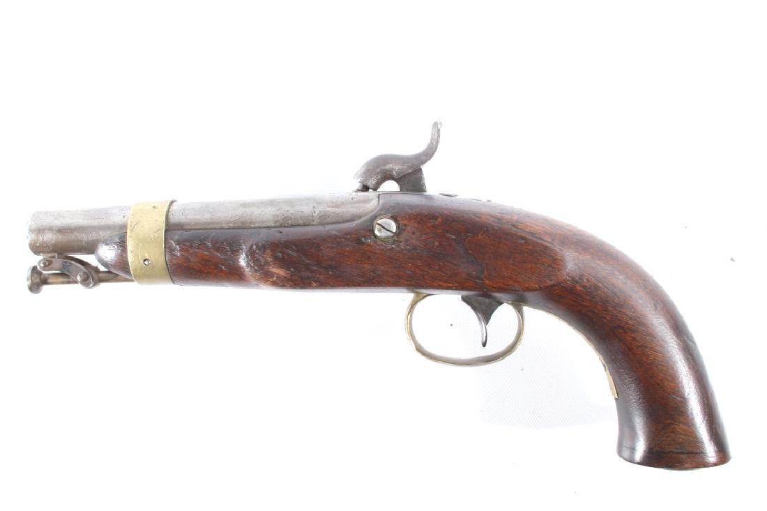 U.S. Navy Model 1842 .54 Cal Box Lock Pistol - 5