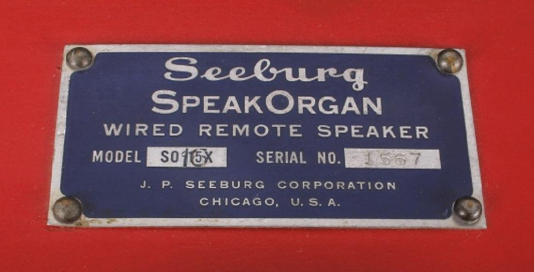 Seeburg SO15x SpeakOrgan Wired Remote Speaker - 4