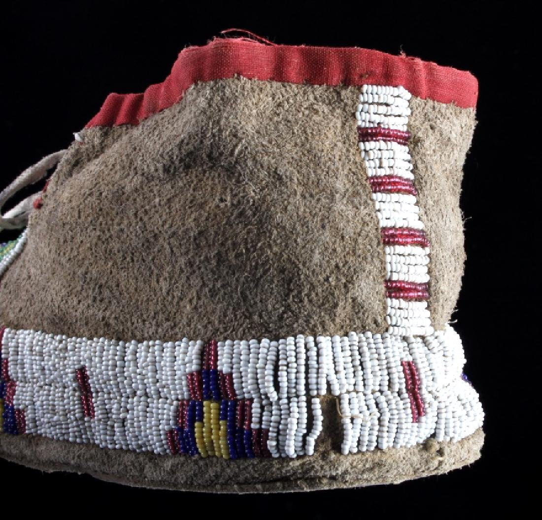 Cheyenne Fully Beaded Moccasins circa 1880 - 7