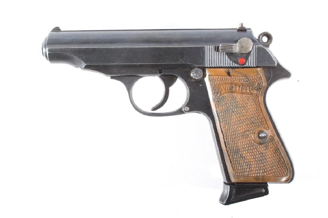 WWII German Walther PP .32 ACP Officers Pistol - 7