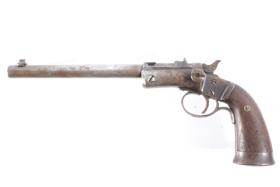 Indian Stevens Model 35 .22 LR w/ Beaded Holster - 6