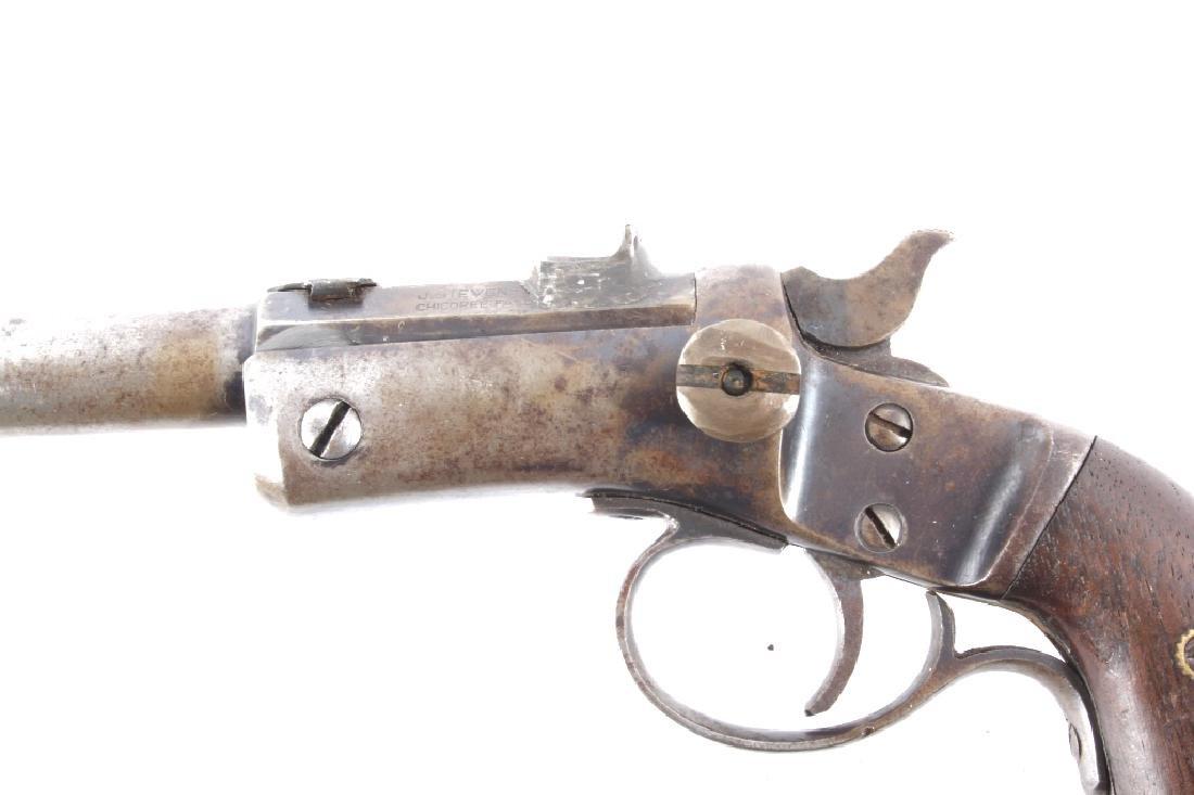 Indian Stevens Model 35 .22 LR w/ Beaded Holster - 8