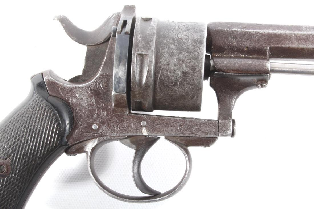 Engraved European .45 Cal Officer's DA Revolver - 3