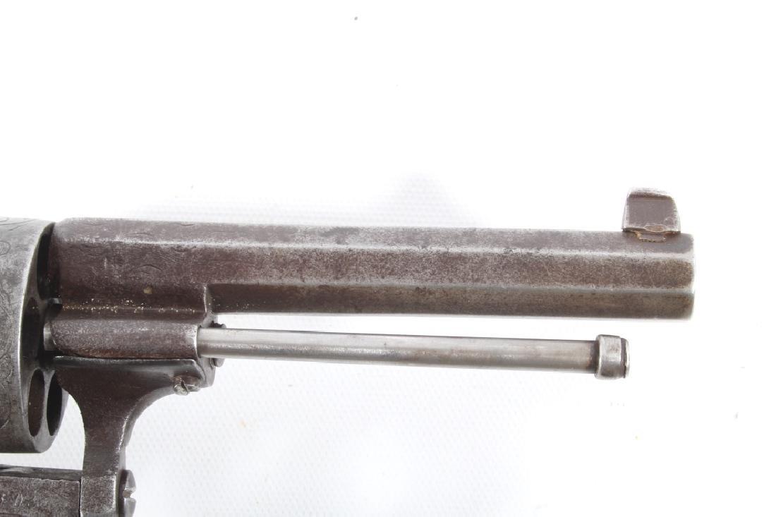 Engraved European .45 Cal Officer's DA Revolver - 4