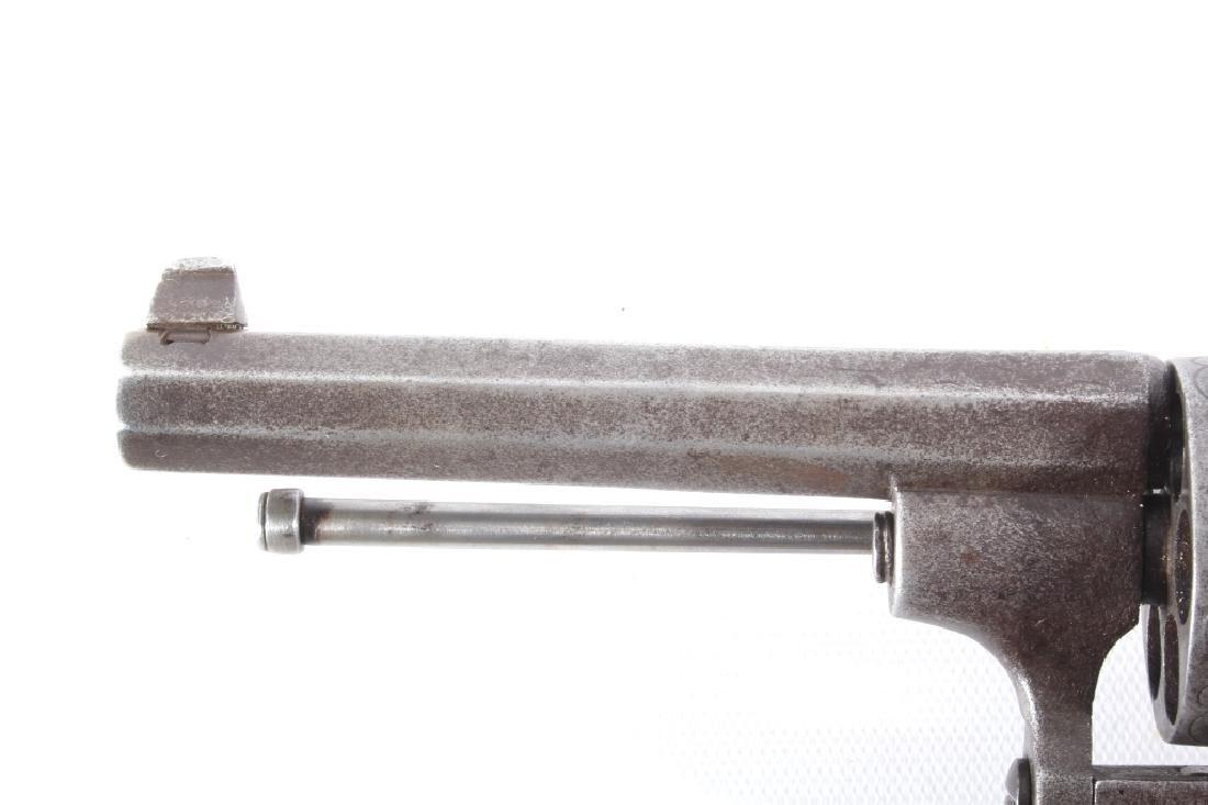 Engraved European .45 Cal Officer's DA Revolver - 9