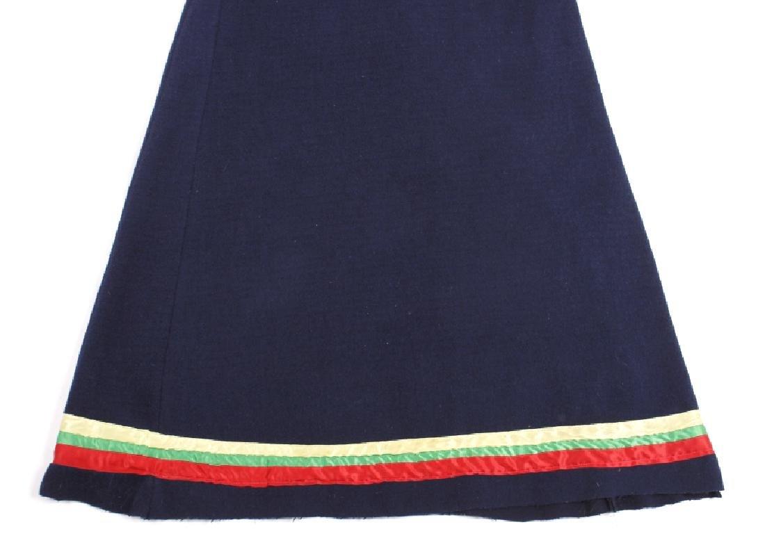 Nez Perce Bugle Beaded Woman's Dress c. 1900 - 4