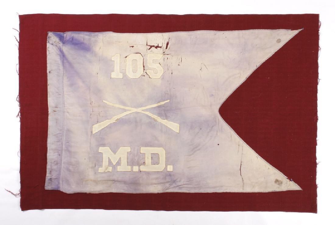 Civil War Era Medical Division Battle Flag