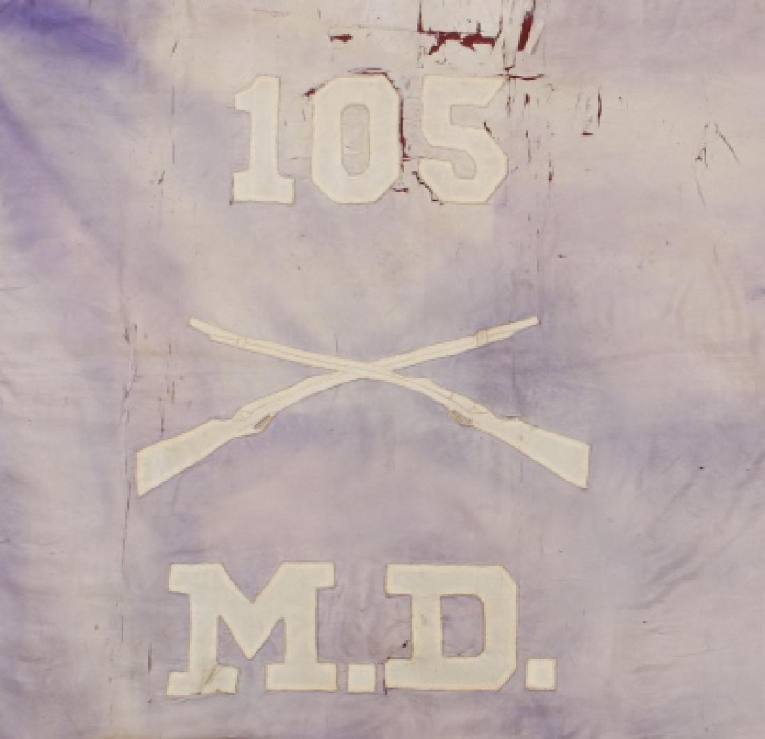 Civil War Era Medical Division Battle Flag - 2