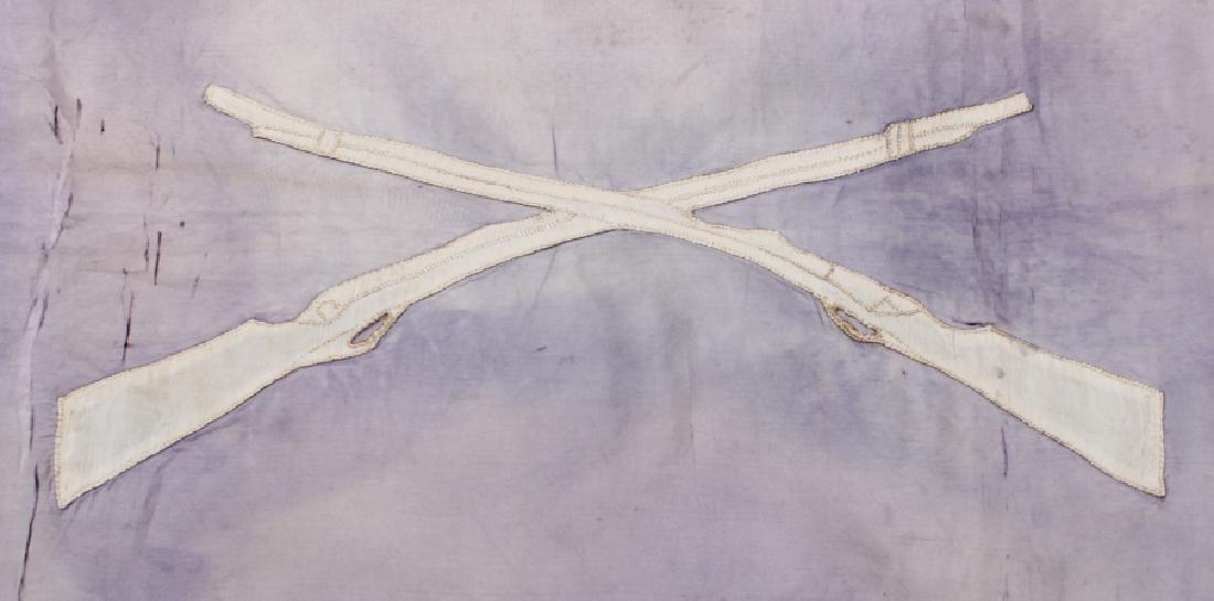 Civil War Era Medical Division Battle Flag - 4