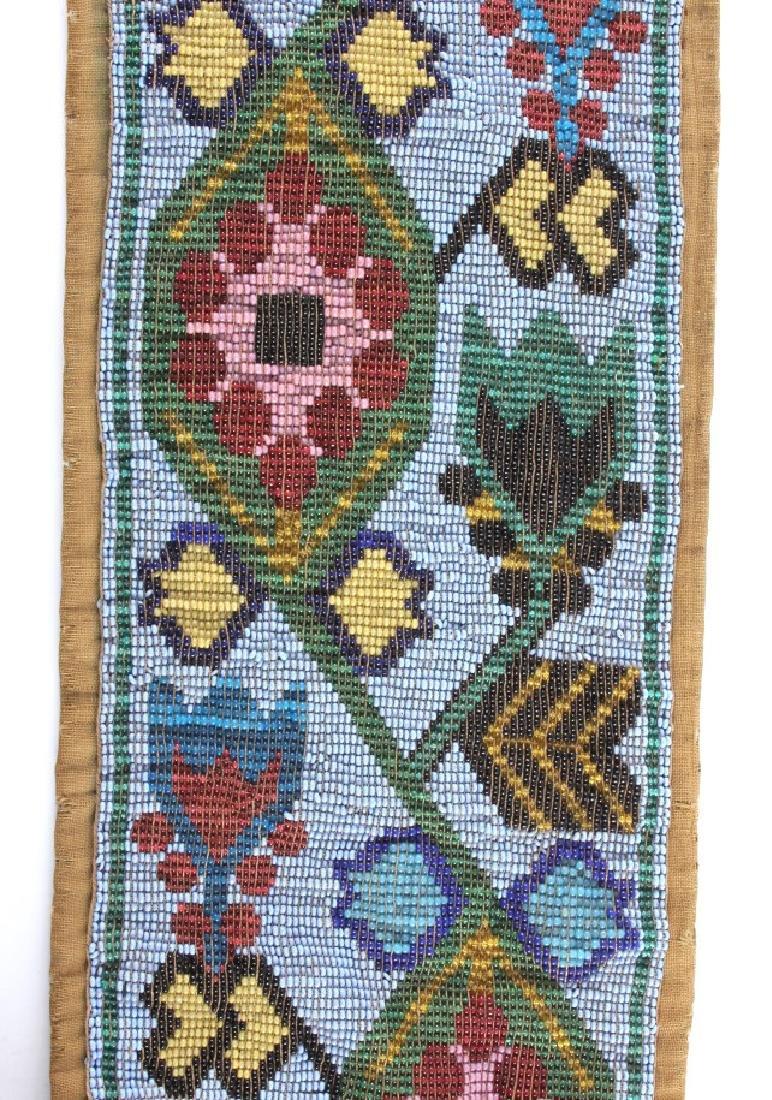 Great Lakes Fully Beaded Bandolier Bag c. 1880- - 10
