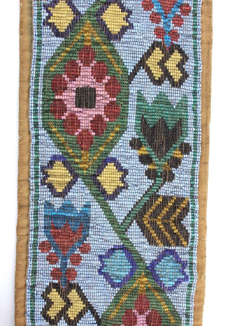 Great Lakes Fully Beaded Bandolier Bag c. 1880- - 10