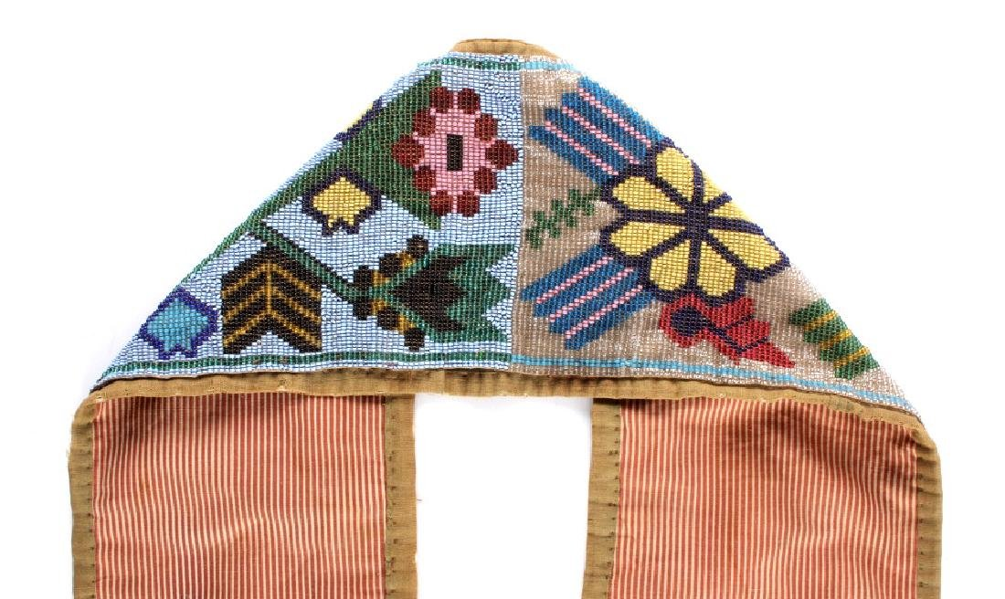 Great Lakes Fully Beaded Bandolier Bag c. 1880- - 17
