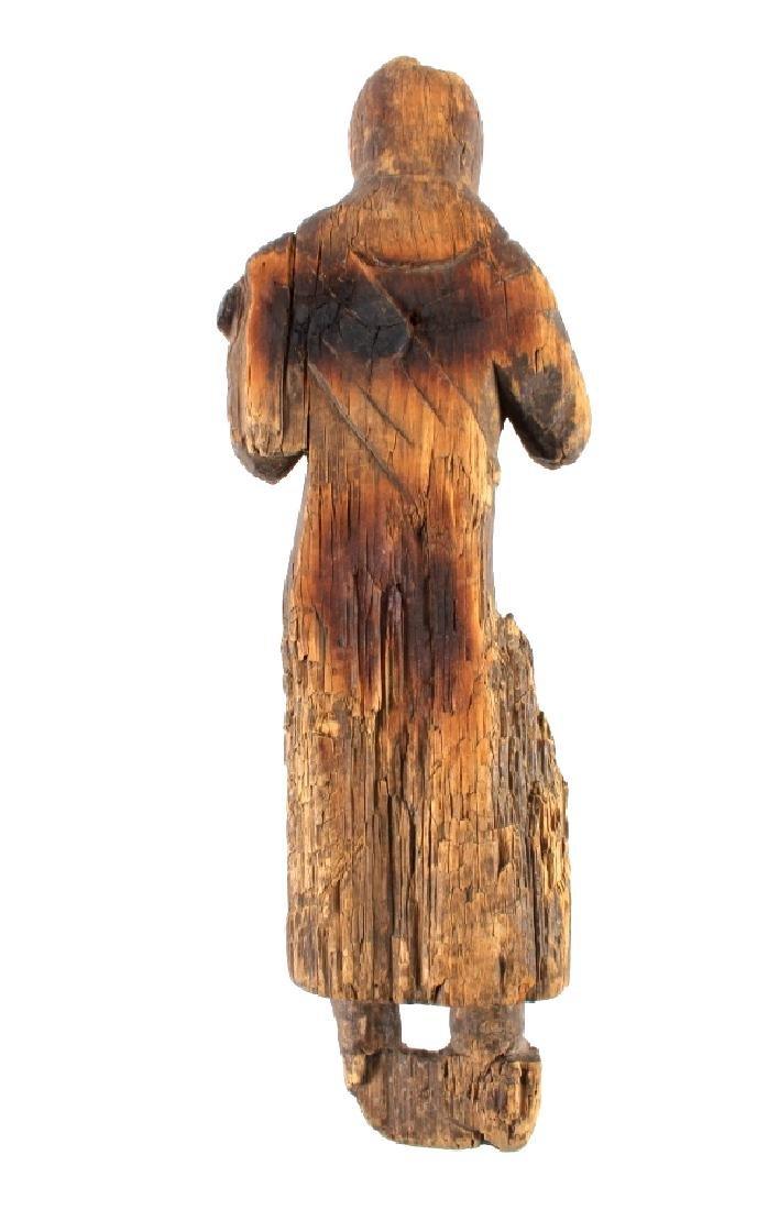Northwest Coast Carved Wood Doll 18th-19th C. - 10