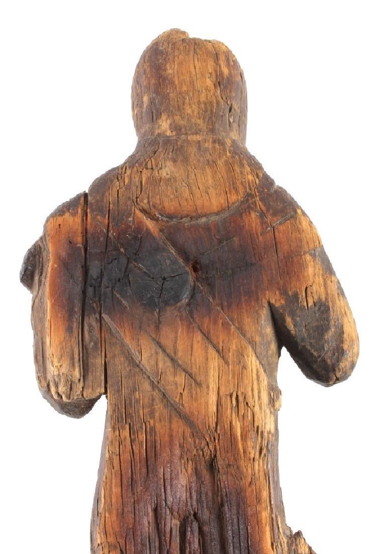 Northwest Coast Carved Wood Doll 18th-19th C. - 11