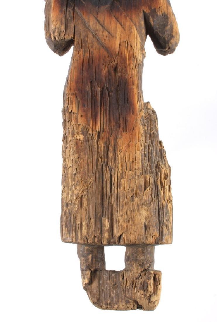 Northwest Coast Carved Wood Doll 18th-19th C. - 12