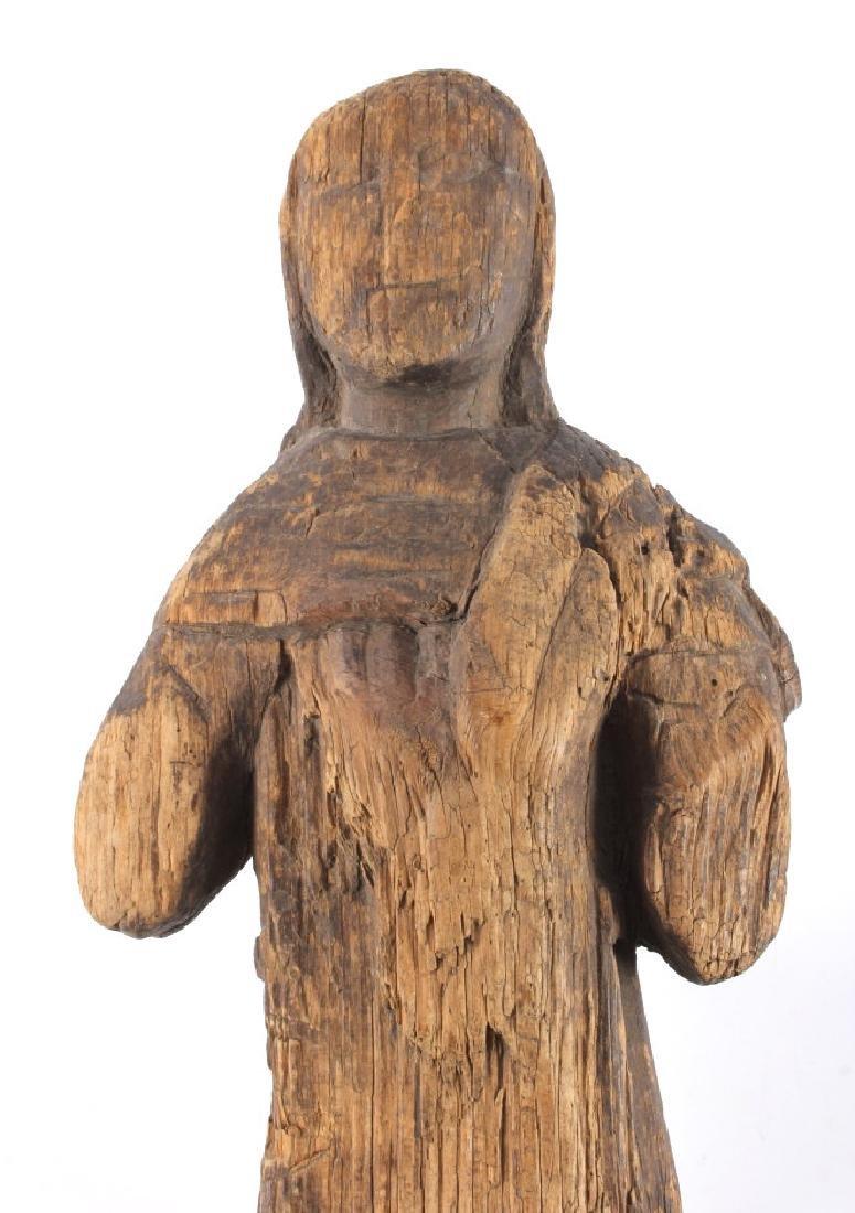 Northwest Coast Carved Wood Doll 18th-19th C. - 2