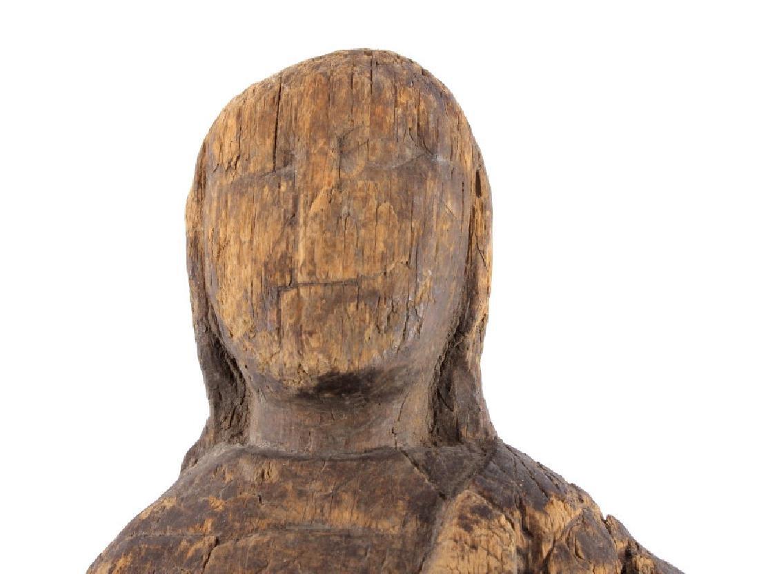 Northwest Coast Carved Wood Doll 18th-19th C. - 3