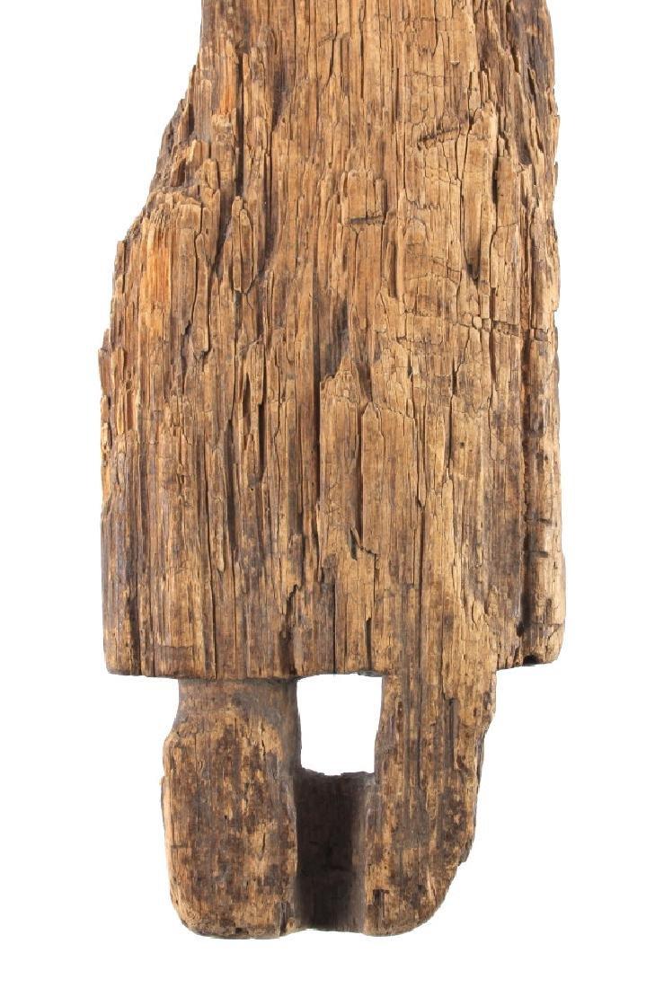 Northwest Coast Carved Wood Doll 18th-19th C. - 5
