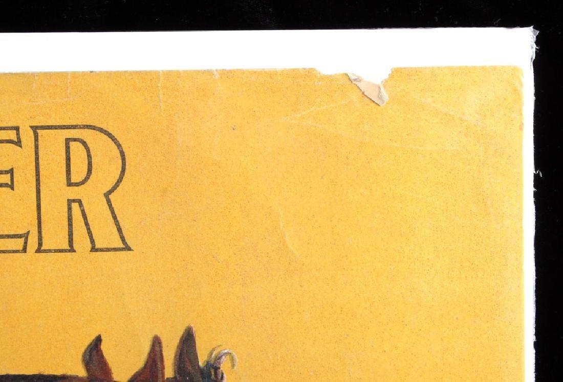 Original 1900 Deering Harvester Advertising Poster - 10