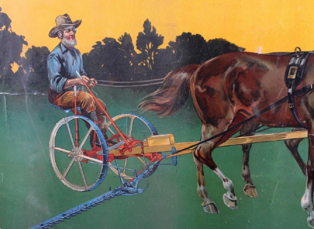 Original 1900 Deering Harvester Advertising Poster - 2