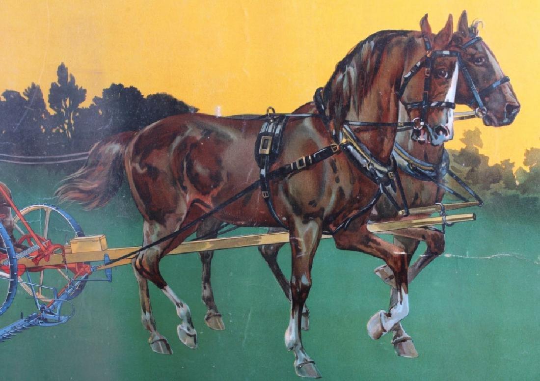 Original 1900 Deering Harvester Advertising Poster - 3