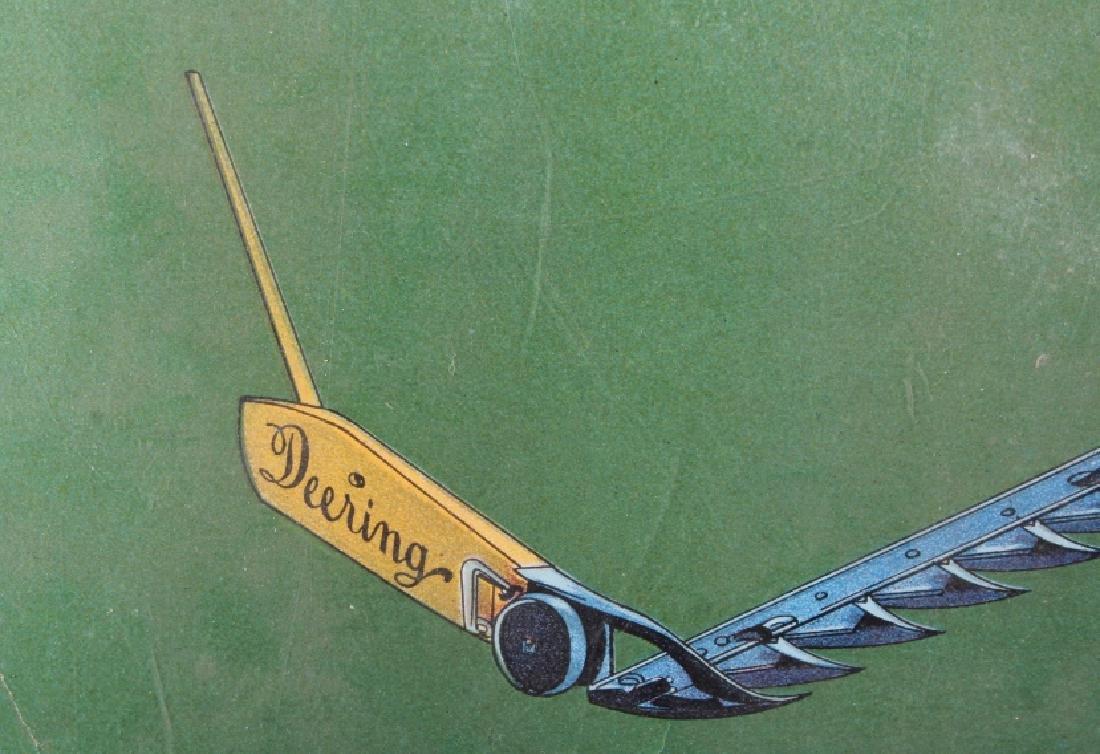 Original 1900 Deering Harvester Advertising Poster - 6