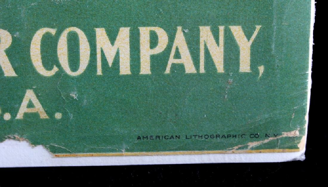 Original 1900 Deering Harvester Advertising Poster - 9