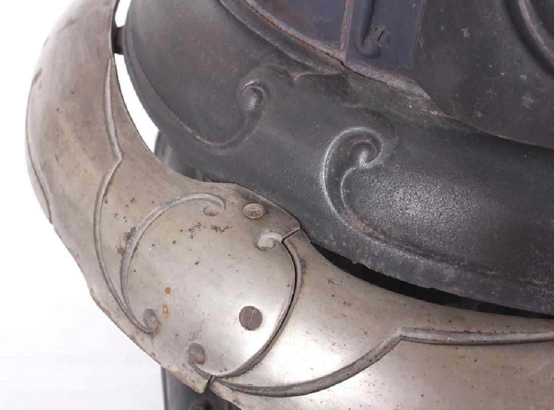Bonny Oak #217 Cylinder Wood Burning Parlor Stove - 10