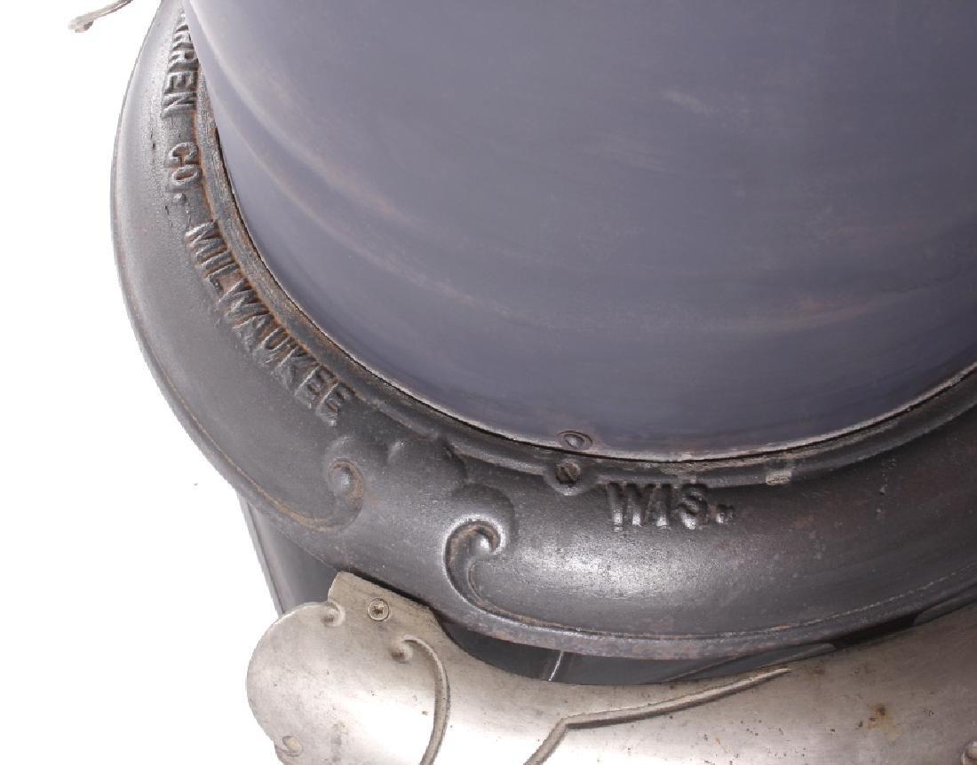 Bonny Oak #217 Cylinder Wood Burning Parlor Stove - 12