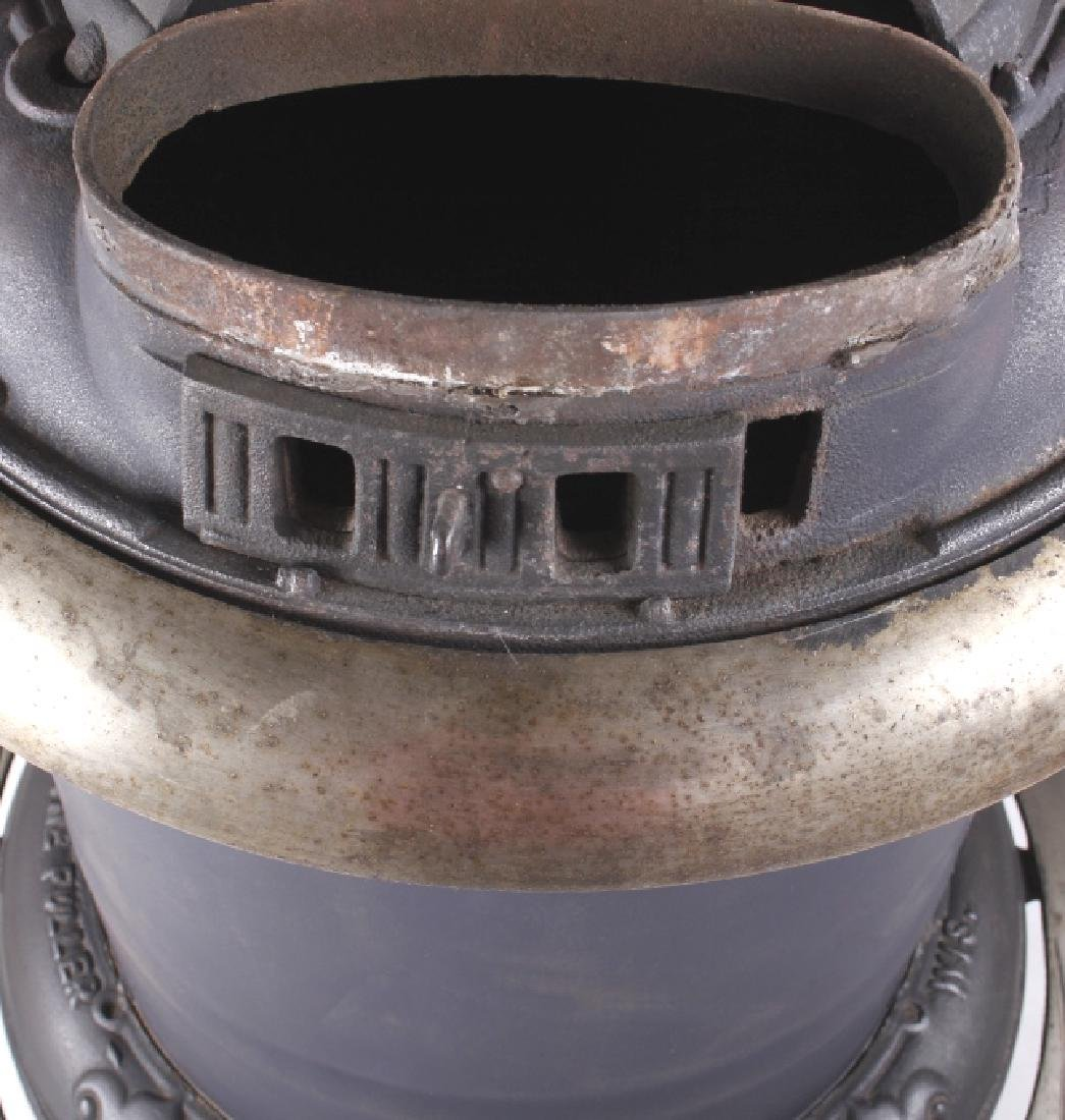Bonny Oak #217 Cylinder Wood Burning Parlor Stove - 13