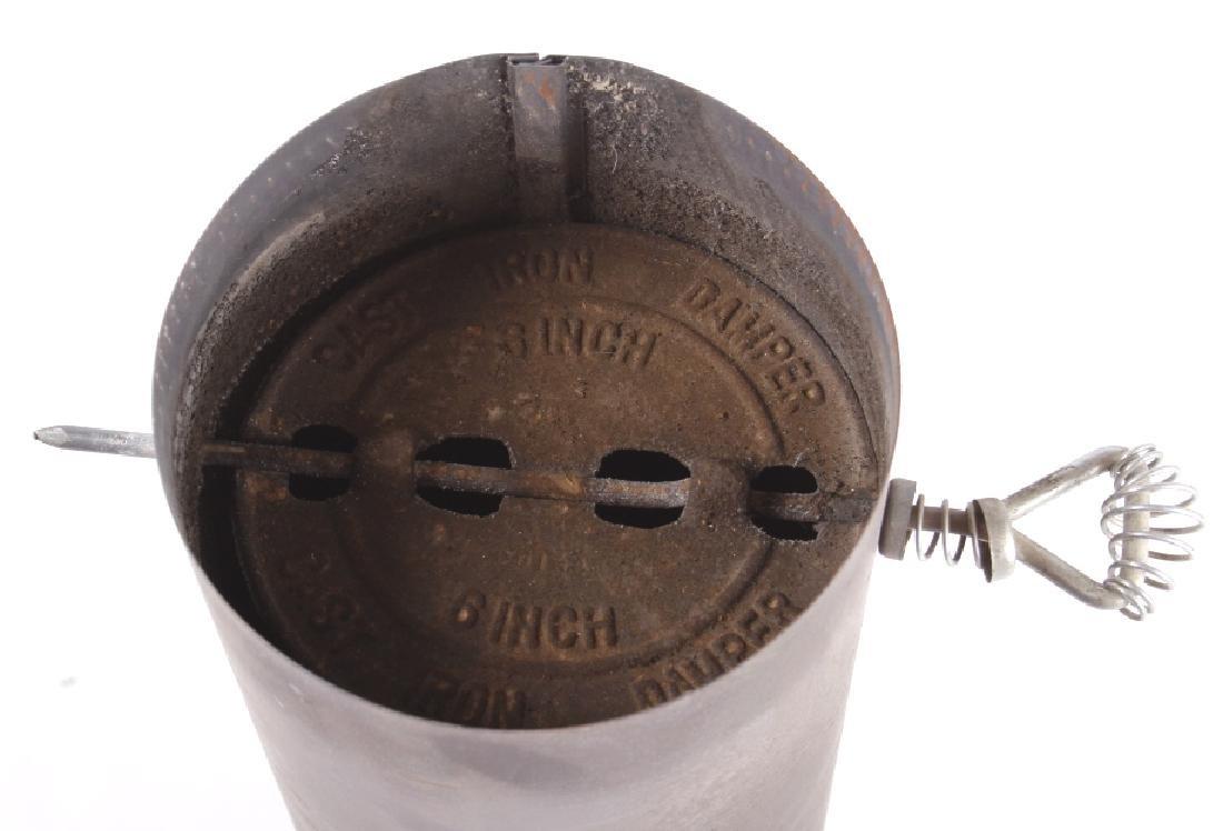 Bonny Oak #217 Cylinder Wood Burning Parlor Stove - 14