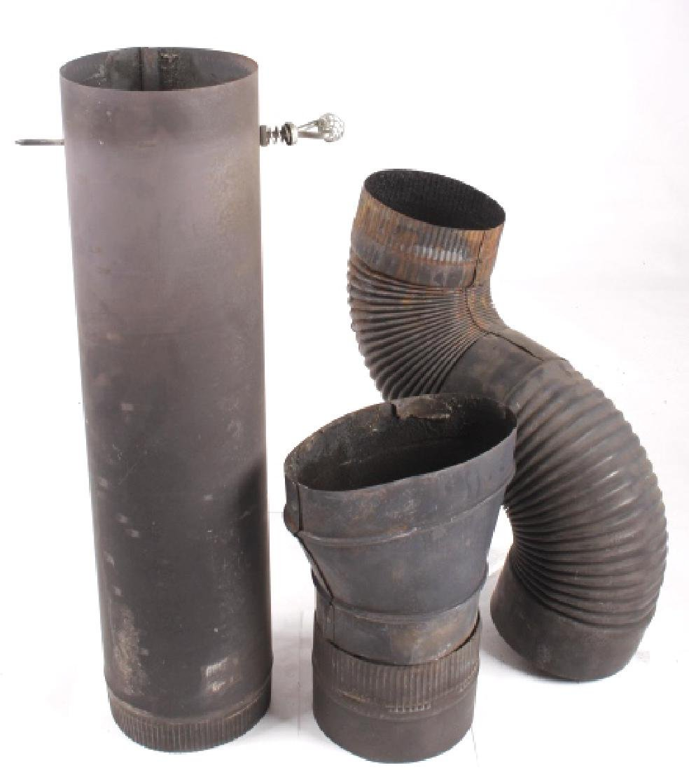 Bonny Oak #217 Cylinder Wood Burning Parlor Stove - 15