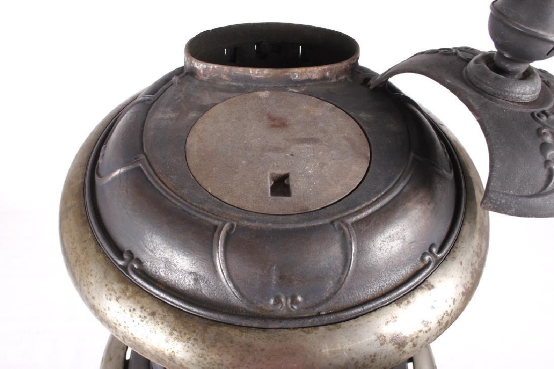 Bonny Oak #217 Cylinder Wood Burning Parlor Stove - 5