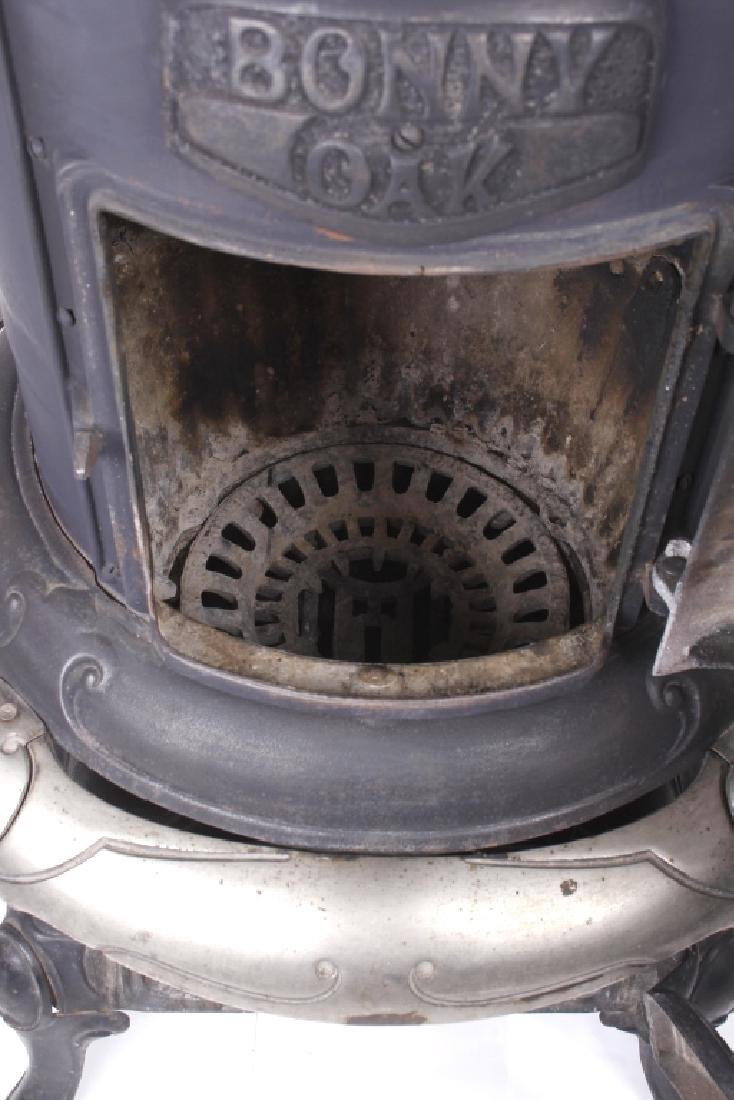 Bonny Oak #217 Cylinder Wood Burning Parlor Stove - 6