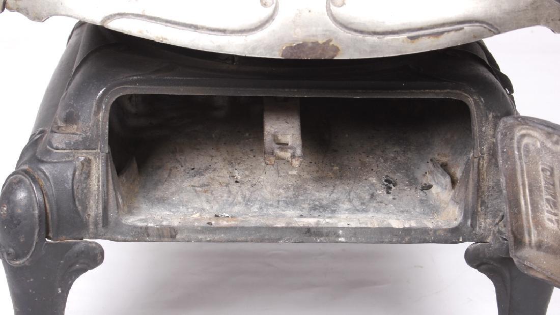 Bonny Oak #217 Cylinder Wood Burning Parlor Stove - 7