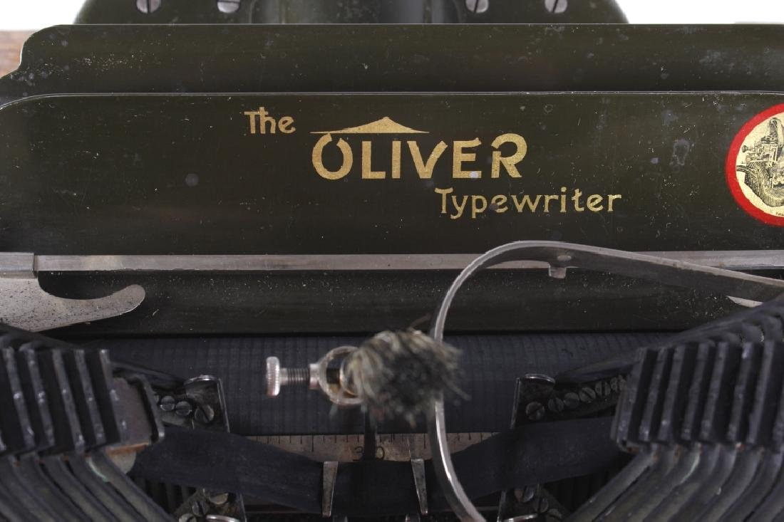 "Oliver No. 5 ""Fiver"" Typewriter w/ Table c.1913 - 10"