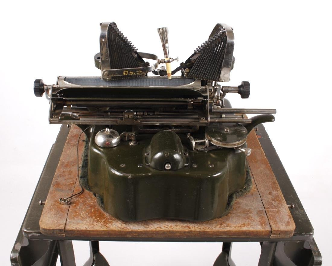 "Oliver No. 5 ""Fiver"" Typewriter w/ Table c.1913 - 14"