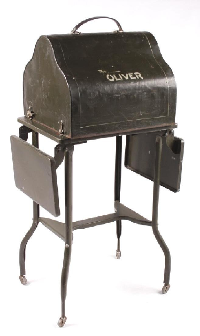 "Oliver No. 5 ""Fiver"" Typewriter w/ Table c.1913 - 2"