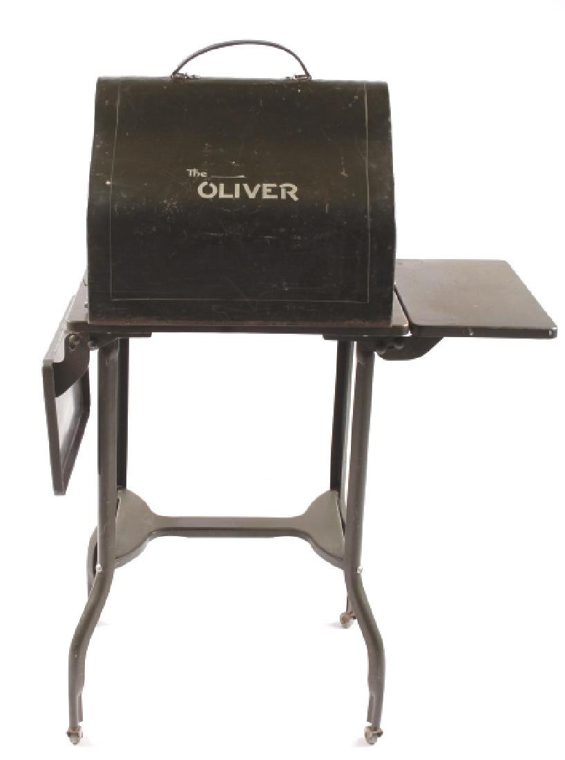 "Oliver No. 5 ""Fiver"" Typewriter w/ Table c.1913 - 6"