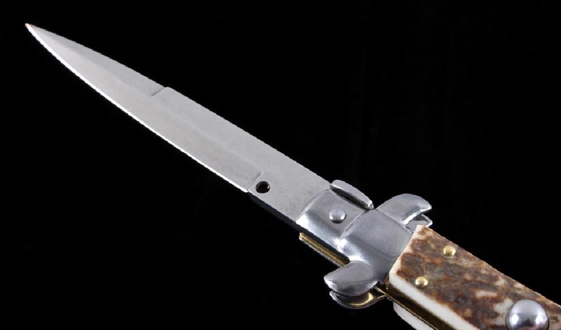 Frank Beltrame Italian Stiletto Switchblade Knife - 3